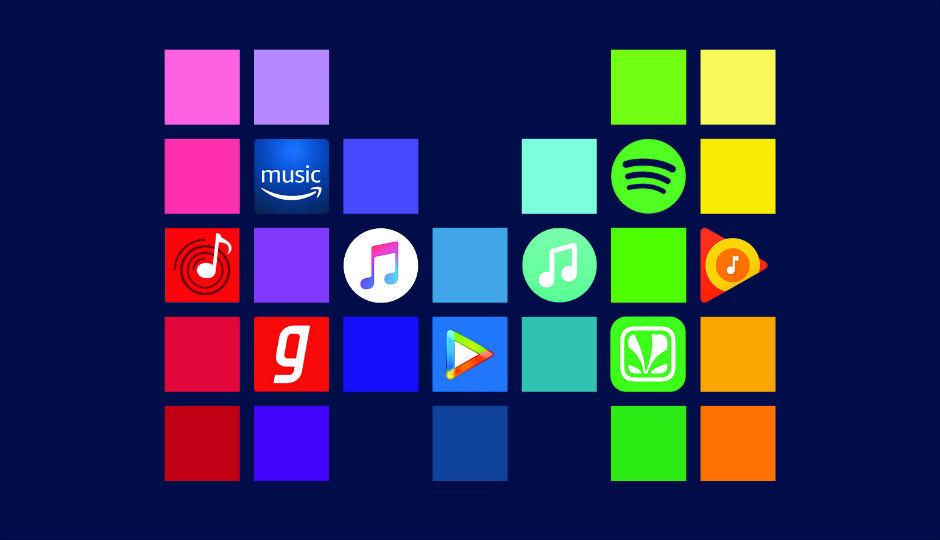 Mendengarkan Musik Streaming